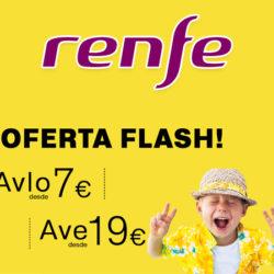 Renfe pone a la venta 25.000 billetes de AVE, media y larga distancia por sólo 17 euros y Avlo desde 7 euros.