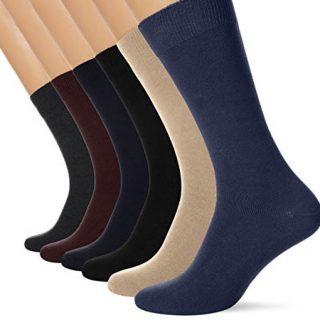 Paquete de 6 pares de calcetines para hombre FM London con respiraderos por sólo 9,49€ en Amazon y 5 pares en Aliexpress por 3,40€.