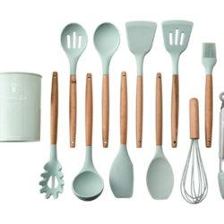 Set de 11 utensilios de cocina de silicona por 3,20€ con código, antes 16€.