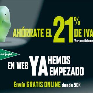 ¡Comienza online los Día Sin IVA en El Corte Inglés!