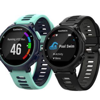 Garmin Forerunner 735XT multisport, GPS, colores turquesa o negro por 207,94€.