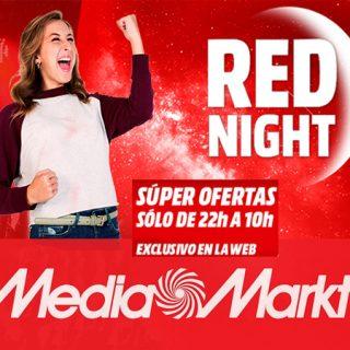 ¡Red Night en Mediamarkt! ¡Grandes ofertas sólo de 22:00 a 10:00h!
