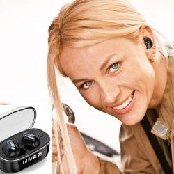 Auriculares inalámbricos bluetooth 5.0 con cancelación de ruidos 8.0 por 16,99€ con código renovado, antes 42,99€.