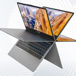 Teclast F5 Laptop 360°, 11.6'', SSD de 256GB, 8GB de RAM, Windows 10 e Intel Gemini Lake N4100 por 273,80€.