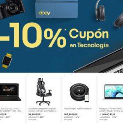 Descuento de un 10% en una selección de 28 artículos rebajados de tecnología en eBay.