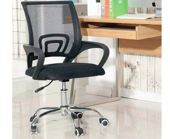 Silla de oficina ergon mica transpirable acolchada y for Silla ergonomica amazon