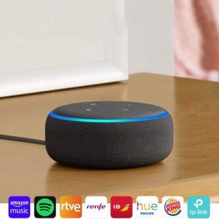 ¡Chollazo! Echo Dot más suscripción 1 mes Amazon Music Unlimited por sólo 19,98€.