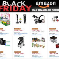 ¡Comienza la semana del Black Friday 2.019! ¡Listado completo de ofertas de hoy en Amazon!