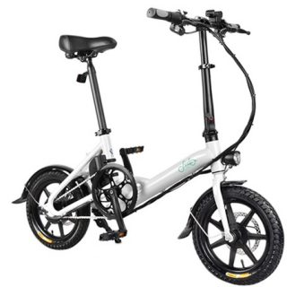 Bicicleta eléctrica Fiido D3 por 356€ desde China y D1 por 338,20€ desde España, mínimo histórico.