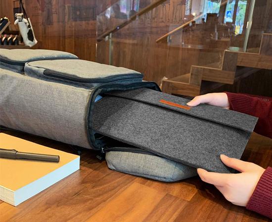c113fc9110d Funda protectora Excelvan gris para portátiles o tablets de 13″ con  bolsillo para ratones, baterías etc, por 3,99€ con código. – Chollos,  descuentos y ...