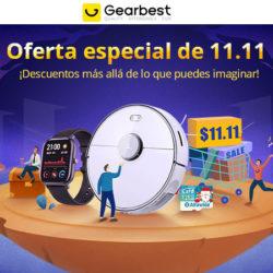 ¡Nueva tanda de cupones del 11-11 en Gearbest! ¡303 Cupones y ofertas de Gearbest ya activas!