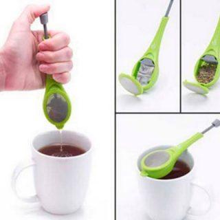 Infusor con émbolo reutilizable para té y otras infusiones por sólo 1,27€.