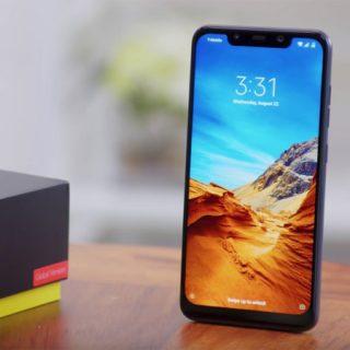Xiaomi Pocophone F1 6/128GB por 186 euros.