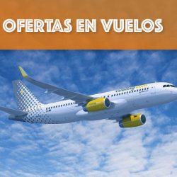 Vuelos desde 5 euros en Vueling para volar entre el 3 de Julio de 2019 y el 28 de Septiembre de 2020.