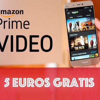 ¡Recibe 5 euros gratis por ver 5 minutos de Prime Video!