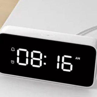 Xiaomi XiaoAI Smart Alarm Clock, despertador, altavoz, radio, con el asiste de voz Xiaoai por sólo 26,49€!!