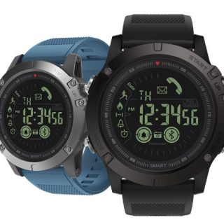 Reloj inteligente Zeblaze Vibe 3 con autonomía de hasta 33 meses por sólo 16,36€.