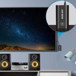 Transmisor/receptor bluetooth Elegiant, aptX  baja latencia y hasta dos auriculares por 16,09€ con código.