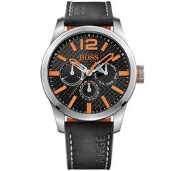 Reloj multiesfera de acero inoxidable y piel Hugo Boss Orange por 75,05€, antes 141,00€ y además 40% de descuento en relojes Hugo Boss.