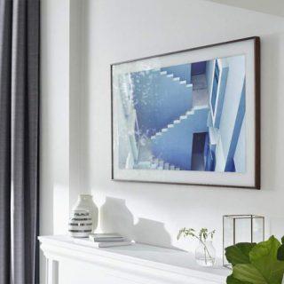 Televisor de diseño Samsung the Frame 4K 2021 32 pulgadas por 377,10€ en Amazon, antes 499,99€.