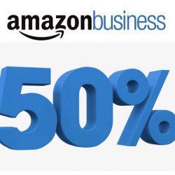 ¡Prorrogado hasta el 14 de Mayo! Recibe un cupón de un 50% de descuento por registrarte en Amazon Business.