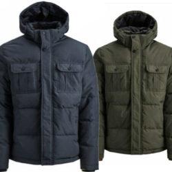 Parka con capucha Jack & Jonespor sólo 34,99€ en azul o verde, antes 79,99€.