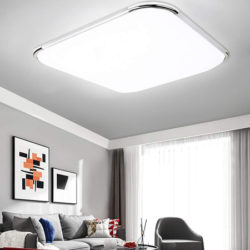 Lámpara de techo led, 21W, color blanco cálido 1080 lumens por 12€ con código, antes 23,99€; 50% de descuento en el resto de modelos.