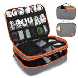 Bolsa para guardar accesorios electrónicos por 11,99€.