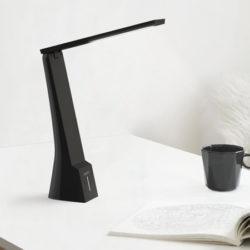 Lámpara de escritorio Aukey LT-ST5, inclinación 180º, 3 niveles de brillo y color, batería recargable por sólo 6,99€ con código.