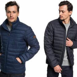 Chaqueta acolchada Quiksilver Scalyr tacto lana en negro o azul por 44 euros, antes 109,99€.