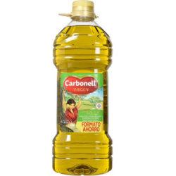 Aceite de oliva Carbonell, 3 litros por 8 euros, antes 13,25€.