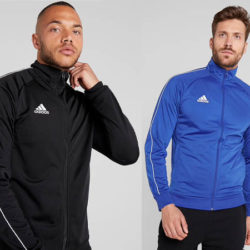 Chaqueta impermeable Adidas Core en cuatro colores por 16,49€, antes 27,95€.