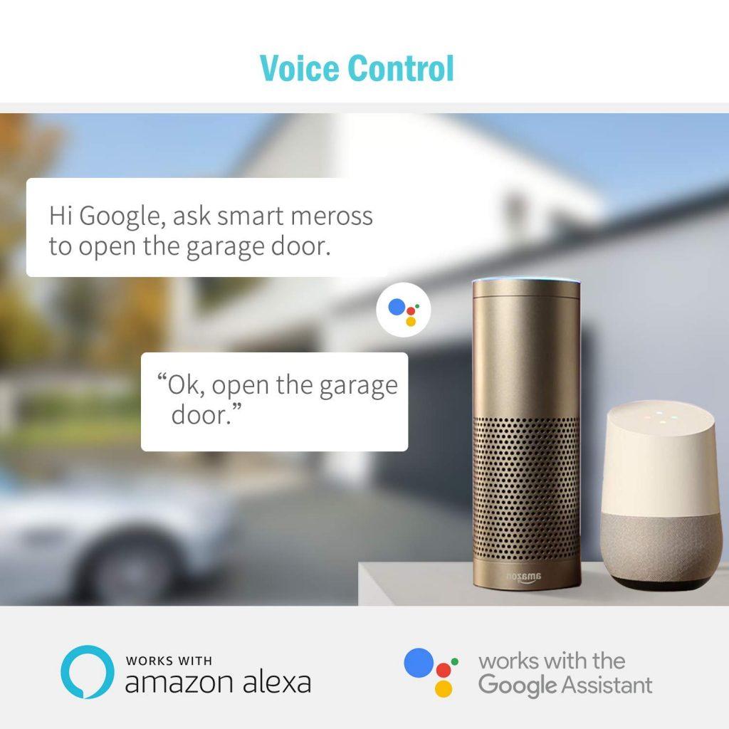 Compatible Alexa De Inteligente Con Garaje Puertas Abridor Wifi 4j5A3RL