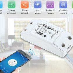 Interruptor inalámbrico inteligente Owsoo SONOFF con app para Android e iOS por 8,99€ con código.