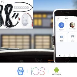 Abridor de puertas de garaje wifi inteligente compatible con Alexa, Google Assistant e IFTTT por 31,49€ con código, antes 69,99€.
