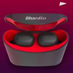 Mini Auriculares Bluedio T-Elf inalámbricos, conectividad Bluetooth, compatibles con Siri y Google Assistant por 17,98€!!