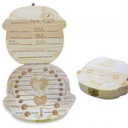 Caja de madera recuerdo de dentición por 6,29€ con código.