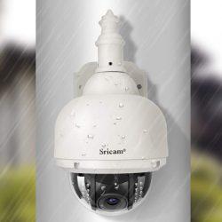 Cámara de vigilancia IP para exteriores con visión nocturna y  detección de movimientos, IP66 por 24,90€ con código, antes 59,90€.