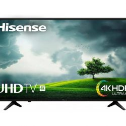 "Smarttv Hisense H50B710, 50"", 4K, HDR por 279 euros, antes 430,50€."