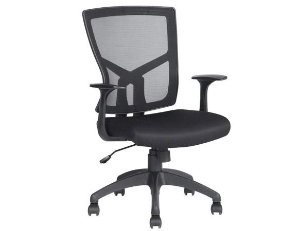 Silla de oficina ergon mica transpirable resplado for Sillas ergonomicas con apoyo lumbar