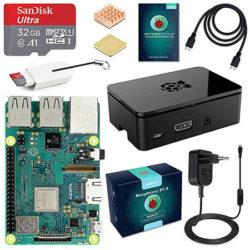 Pack extras Raspberry Pi 3 B+, procesador Quad-Core Cortex A53 por 58,99€ con código.