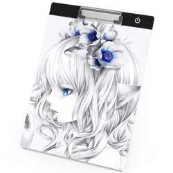 Tablero de dibujo Aibecy, A4, iluminación led ajustable por 11,99€ con código.