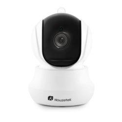 Cámara de vigilancia IP bidireccional Houzetek, visión nocturna, detección de movimientos por 13,20€ con código renovado, antes 32,99€.