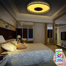 Plafon con iluminación RGB, altavoz y temporizador iLifeSmart por 42,99€ con código antes 85,99€.