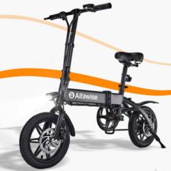 Alfawise X1, Bicicleta eléctrica plegable con batería recargable desde 387,00€ con cupón!!