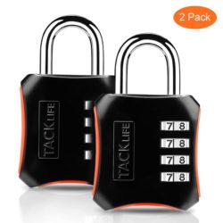2 candados de seguridad Tacklife por 5,84€ con código.