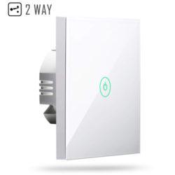 Interruptor táctil Wi-Fi meross compatible con Alexa, Google y IFTTT por 14,99€ con código, antes 29,99€.