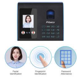 Máquina de acceso inteligente por reconocimiento facial, huellas o claves por 40,40€ con código, antes 67,33€.