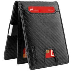 Billetera con protección RFID por sólo 8,49€ en Amazon.