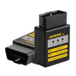 Escáner bluetooth Autool OBD2 para diagnóstico de motores por 6,50€ con código.